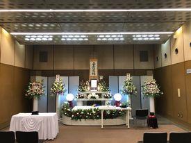 【実例】北斎場 家族葬10名