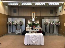 【実例】北斎場中2式場 一日葬15名