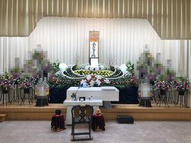 【実例】堺市斎場 一般葬 親族15名