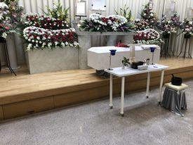 【実例】堺市斎場 家族葬 10名