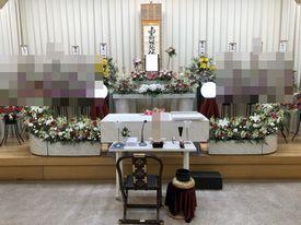 【実例】堺市立斎場 家族葬13名
